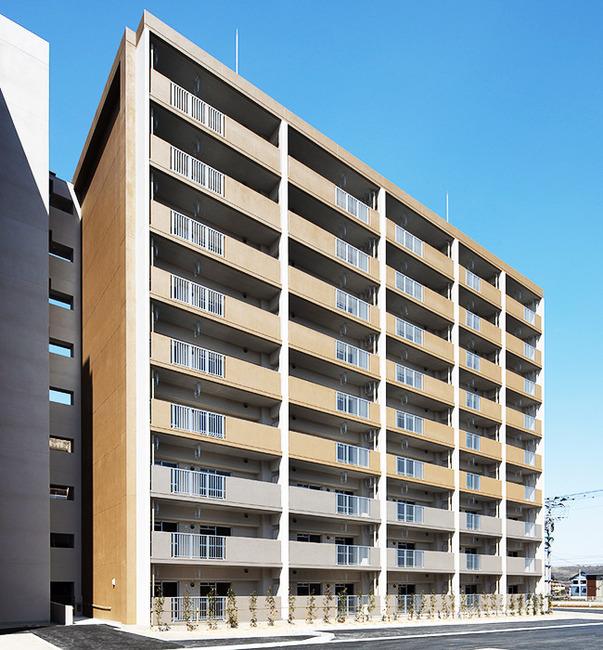 福岡県公営住宅中鶴団地第4工区建築工事